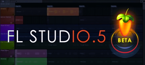 FL Studio 10.5 Beta 1