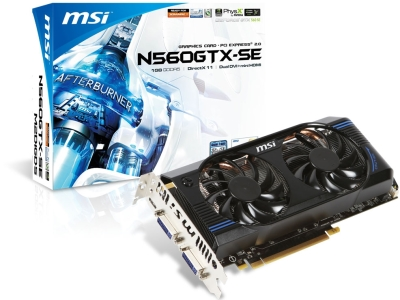 MSI GeForce GTX 560 SE
